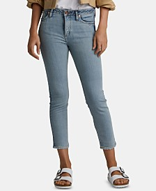 Silver Jeans Co. Slim-Fit Cropped Jeans