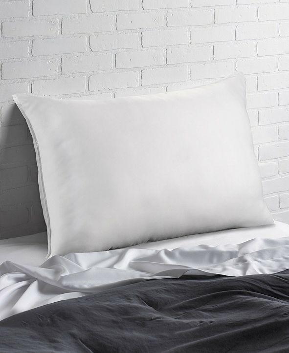 Ella Jayne Overstuffed Plush Allergy Resistant Gel Filled Side/Back Sleeper Pillow - Queen
