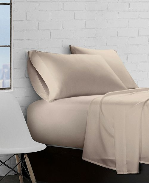 Ella Jayne Super Soft Triple Brushed Microfiber 3-Piece Sheet Set - Twin