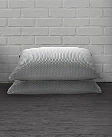 2 Pack Cool N' Comfort Gel Fiber Pillow with CoolMax Technology - Queen