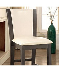 Contemporary Style Counter Height Chair, Set of 2