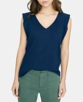 559e21419d8 Sanctuary Lily V-Neck Flutter-Sleeve T-Shirt. Quickview. 2 colors