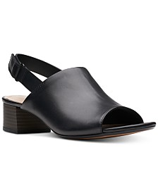 Clarks Collection Women's Elisa Lyndsey Slingback Sandals, Created for Macy's