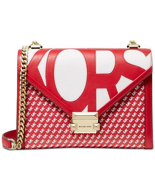Michael Kors Whitney Logo Shoulder Bag