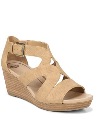 DR. SCHOLL'S | Dr. Scholl's Women's Bailey Wedge Sandals Women's Shoes | Goxip