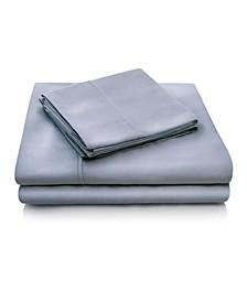 Woven 300 Thread Count Tencel Queen Pillowcase Set