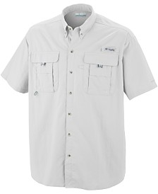 Columbia Men's Big and Tall PFG Bahama II Short-Sleeve Shirt