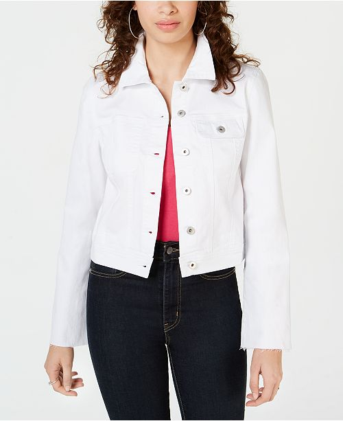 American Rag Juniors' Denim Jacket, Created for Macy's
