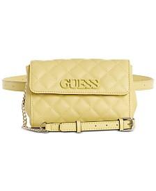 299cbfce44 GUESS Elliana Convertible Crossbody Belt Bag