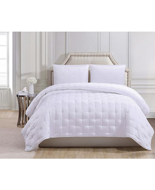 Charisma Luxe Silky Satin King Coverlet Set