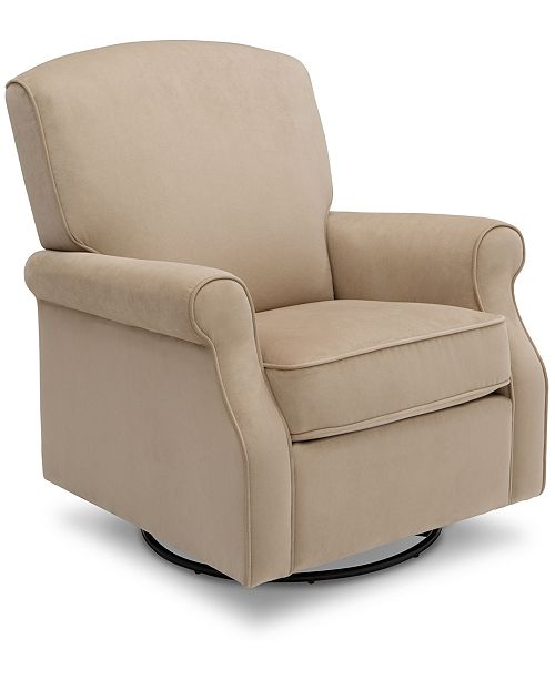 Delta Stella Glider Swivel Rocker, Quick Ship