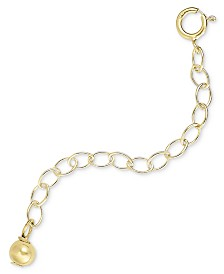Giani Bernini 18k Gold over Sterling Silver Extension Chain Necklace, 2 Inch Chain Extender