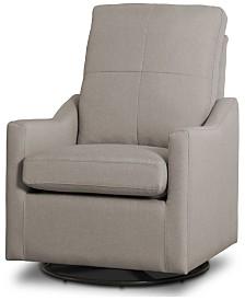 Kenwood Nursery Glider Swivel Rocker Chair, Quick Ship