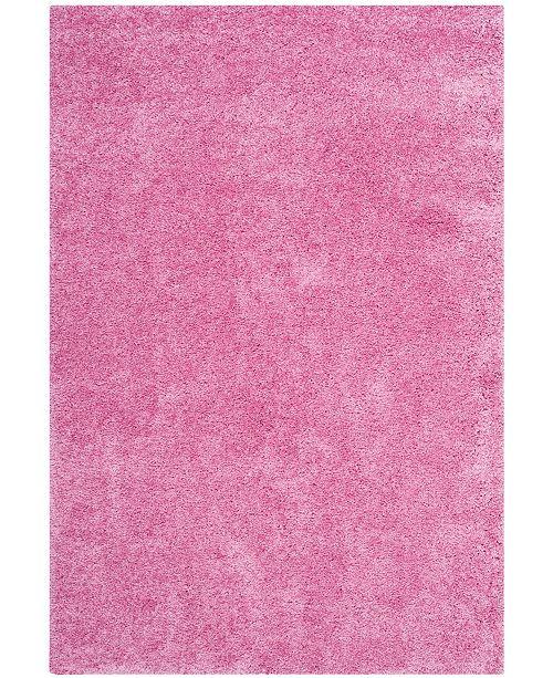 Safavieh California Pink 4' x 4' Square Area Rug