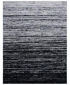 Safavieh Adirondack Silver and Black 6' x 9' Area Rug