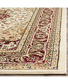 Lyndhurst Ivory and Red 10' x 14' Area Rug