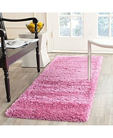 "California Pink 2'3"" x 9' Runner Area Rug"