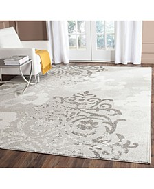 Adirondack Silver and Ivory 11' x 15' Area Rug