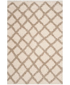Dallas Ivory and Beige 6' x 9' Area Rug
