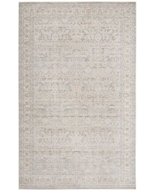 """Safavieh Archive Gray and Light Gray 5'1"""" x 7'6"""" Area Rug"""