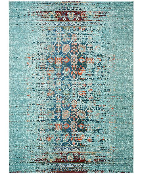 Safavieh Monaco Blue and Multi 8' x 10' Area Rug