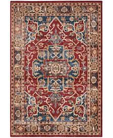 Safavieh Bijar Red and Royal 4' x 6' Area Rug