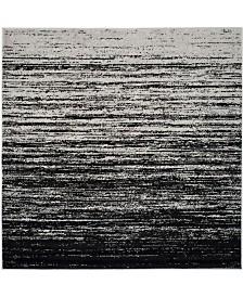 Safavieh Adirondack Silver and Black 8' x 8' Square Area Rug