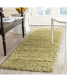 "California Green 2'3"" x 9' Runner Rug"