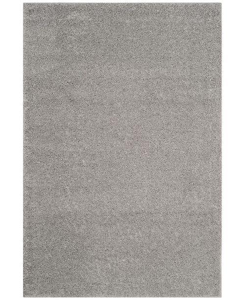 Safavieh Arizona Shag Light Gray 3' x 5' Area Rug