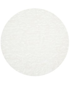 Safavieh Faux Sheep Skin Ivory 5' X 5' Round Area Rug