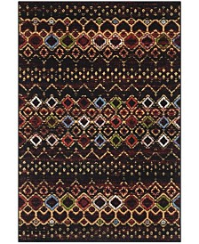 Safavieh Amsterdam 108 Black and Multi Area Rug Collection