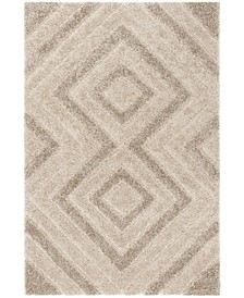Memphis Cream and Taupe 4' x 6' Area Rug