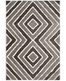 Memphis Taupe and Grey 2' x 8' Runner Area Rug