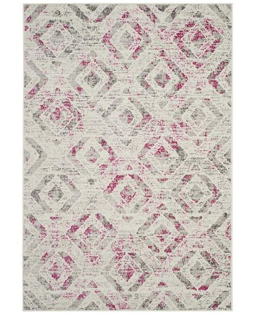 "Safavieh Skyler Ivory and Pink 5'1"" x 7'6"" Area Rug"