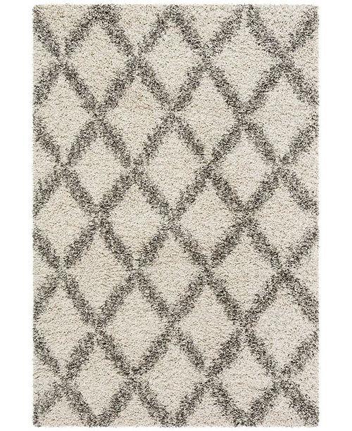 Safavieh Hudson Ivory and Gray 4' x 6' Area Rug