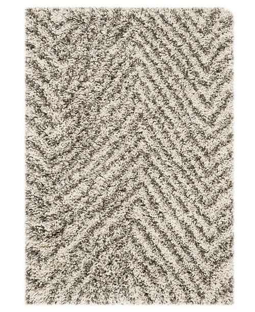 Safavieh Hudson Ivory and Gray 2' x 3' Area Rug