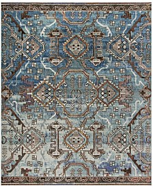 Safavieh Harmony Blue and Light Blue 11' x 16' Sisal Weave Rectangle Area Rug