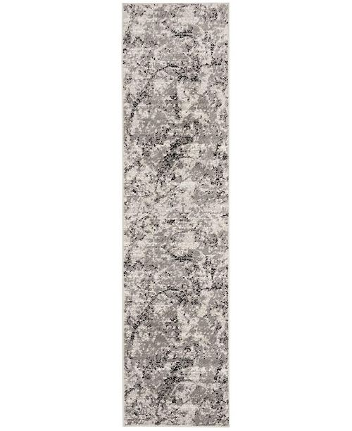 Safavieh Skyler Grey and Ivory 2' x 10' Runner Area Rug