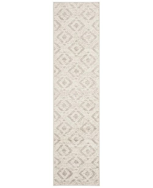 Safavieh Skyler Ivory and Grey 2' x 12' Runner Area Rug