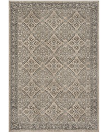Brentwood Cream and Gray 3' x 5' Area Rug