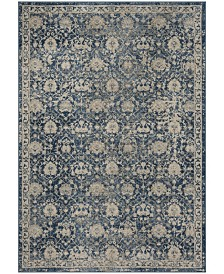 Safavieh Brentwood Navy and Creme 3' x 5' Area Rug