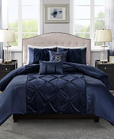 Madison Park Mia King Velvet 5 Piece Comforter Set