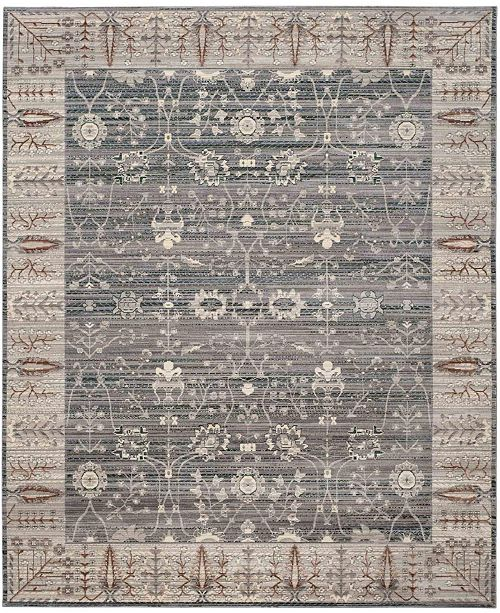 Safavieh Valencia Dark Gray and Light Gray 8' x 10' Area Rug