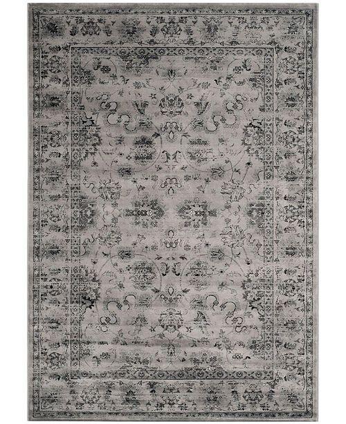 Safavieh Vintage Gray and Ivory 10' x 14' Area Rug