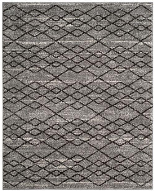 Safavieh Tunisia Gray and Black 8' x 10' Area Rug