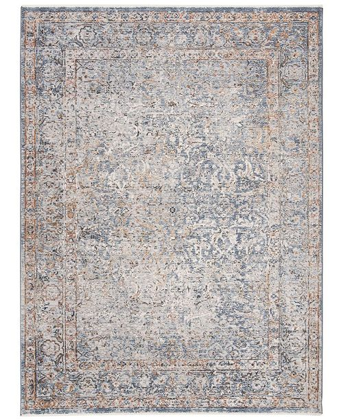Safavieh Winston Navy and Creme 8' x 10' Area Rug