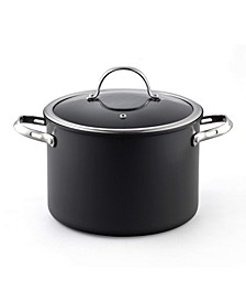 8-Quart Hard Anodized Nonstick Stockpot with Cover