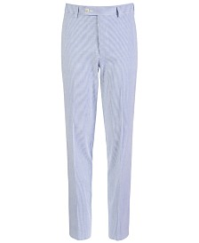 Lauren Ralph Lauren Big Boys Classic-Fit Seersucker Stripe Suit Pants