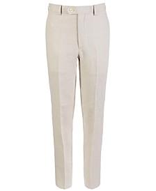 Big Boys Classic-Fit Linen Suit Pants