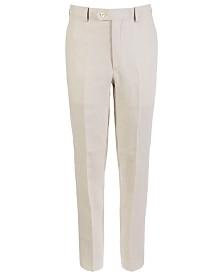 Lauren Ralph Lauren Big Boys Classic-Fit Linen Suit Pants